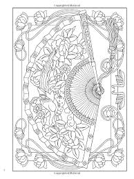 Small Picture Creative Haven Vintage Hand Fans Coloring Book Creative Haven