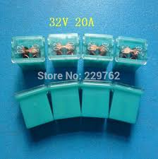popular automotive fuse box connectors buy cheap automotive fuse shipping high quality 100pcs 32v 20a automotive mini fuse link auto fuse box pal pacific