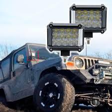 Best Atv Lights 3 Row 4inch 57w Led Work Lights Offroad Led Bar Light Trucks Boat Atv 4x4 4wd 12v 24v Flood Driving Lamp Headlight