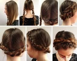 simple hairstyles for um hair step by step