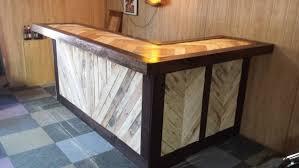 diy pallet bar. Pallet Bar Recycled Wood Diy