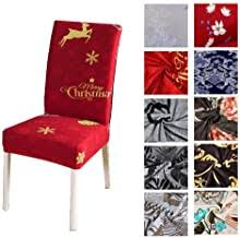 Dining Chair Slipcovers: Home & Kitchen - Amazon.co.uk