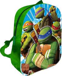 3d pluche 31cm ninja turtles rugzak