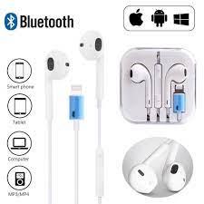 Mới Tai Nghe Bluetooth Có Mic Cho iPhone 7 8 Plus X Xr Xs max 11 12 pro max