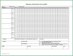 Medication Administration Record Template Medication Administration Record Template Pdf New Beautiful