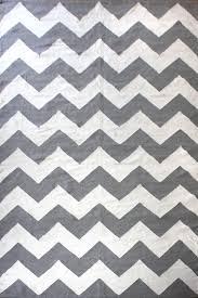 chevron grey flatweave rug