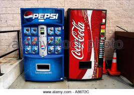 Pepsi Can Vending Machine Amazing PepsiCola And CocaCola Vending Machines Side By Side In New York