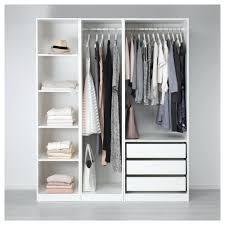 Ikea Schlafzimmer Schrank 3m Pax Kleiderschrank Offen Riesig Inkl