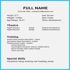 How Theatre Resume Realty Executives Mi Invoice And Resume