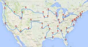 Driving Trip Planner Computing The Optimal Road Trip Across The U S Dr Randal S Olson