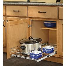 ... Cabinet Basket. Product Image 1. Rev-A-Shelf 17.5-in W x 7-in H Metal 1