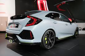 2018 honda hatchback sport. interesting sport in the exterior design 2018 honda civic hatchback will bring something new  in some aspects like 16 u2013 inch alloy wheels the lighting look brighter as  intended honda hatchback sport o