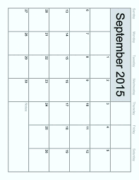 2015 Monthly Calendar Template For Word Globalforex Info