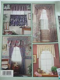 Curtain Sewing Patterns Classy Window Treatments Simplicity Sewing Pattern Book Curtains Drapes