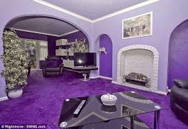 would you live in a purple house interior design and home