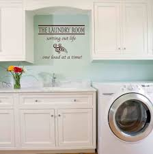 ... Striped Walls Laundry Room Designs For Small Spaces If You Live In An  Apartment Or Home ...