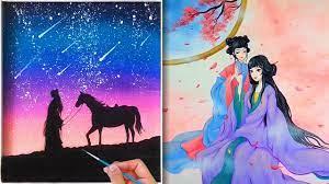 Tranh vẽ cổ trang siêu đẹp💘Amazing Art Drawing💘Nghệ thuật vẽ tranh đỉnh  cao của họa sĩ Trung Quốc▷49 - YouTube