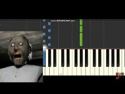 Granny Horror Game Music Soundtrack Piano Synthesia Tutorial Part