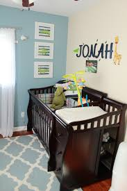 5 10 boy alligator nursery crib view