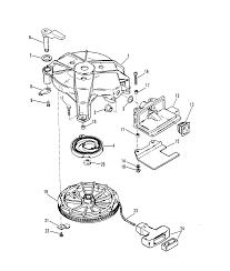 Manual starter design i for mariner mercury 6 8 hp 9 9 15 hp