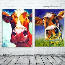 cow painting on canvas s standard sizes in cm ark xbox one ideas