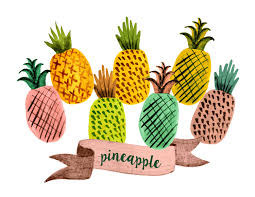 pineapple with sunglasses clipart. pin pineapple clipart yellow fruit #5 with sunglasses