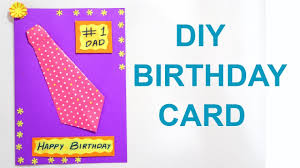 Birthday On Day Card Birthday Card For Father Diy Birthday Card Fathers Day Card