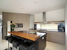 kitchen modern island. Modern Island Kitchen Design Using Granite
