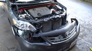 How To Remove The Front Bumper On The 2009-2013 Toyota Corolla ...