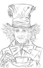 Small Picture Mad Hatter Johnny Depp in Alice in Wonderland WetCanvas