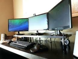 computer monitor riser computer monitor riser white staples computer monitor riser with drawer