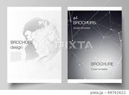 ベクトル テンプレート レイアウト カタログのイラスト素材 Pixta