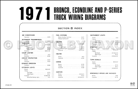 1971 ford truck wiring diagram 1971 automotive wiring diagrams 1971fordbroncoowd toc ford truck wiring diagram 1971fordbroncoowd toc
