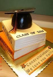 Gold Book And Cap Graduation Cake Sarkis Pastry