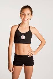 Teen female model fitness