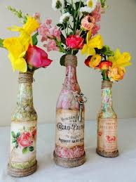homemade wine bottle crafts wine bottle diy craft