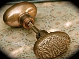 Backyards : Rare Antique Public School Door Knob Set Il Fullxfull ...
