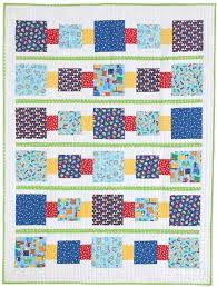 2307 best Quilt Inspriation images on Pinterest   Bohemian ... & Block by Block Easy Quilt Kit Adamdwight.com