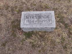 Myra Bennett Wade (1884-1953) - Find A Grave Memorial