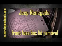2015 jeep renegade front fuse box lid removal youtube Another Word For Fuse Box Another Word For Fuse Box #31 other word for fuse box