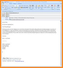 Best When Sending A Resume By Email What Is The Subject