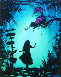 Alice in Wonderland (21+) - Uncorked Canvas -