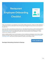 New Hire It Checklist New Hire It Checklist Under Fontanacountryinn Com