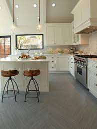 Kitchen Stone Floor White Kitchen Tile Floor Ideas Beige L Shaped Cabinet Biege Stone