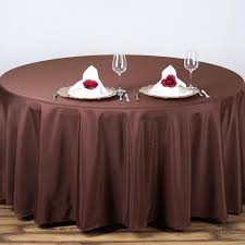 exciting table cloths for your dining table decor idea round 90 inch polyester table cloths