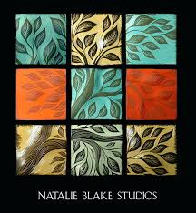 ceramic wall art tiles tree of life with red handmade ceramic wall art tiles by decorative ceramic wall art tiles