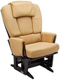 modern glider chair. Exellent Chair Dutailier Nursing Grand Modern Glider Chair With BuiltIn Feeding Pillows  EspressoCamel On O