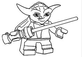 Small Picture Lego Star Wars Yoda Coloring Pages Boys Coloring Pages Lego