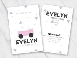 Free Birth Announcement Templates For Word | Temploola