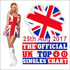 Uk Music Charts 2017 Dj Naid Pro Music The Official Uk Top 40 Singles Chart 25th